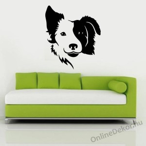 Wall sticker, Wall tattoo, Wall decoration, Wall decal - Kutyák - Border collie 2208