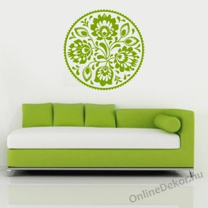 Wall sticker, Wall tattoo, Wall decoration, Wall decal - Folk - Folk pattern 2235