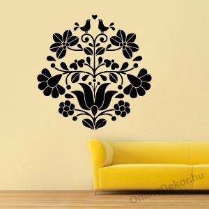 Wall sticker, Wall tattoo, Wall decoration, Wall decal - Folk - Folk pattern 2236