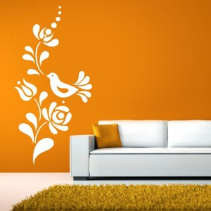 Wall sticker, Wall tattoo, Wall decoration, Wall decal - Folk - Folk pattern 2238