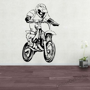 Wall sticker, Wall tattoo, Wall decoration, Wall decal - Motorcycle - Motorcycle 2246