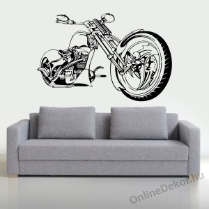 Wall sticker, Wall tattoo, Wall decoration, Wall decal - Motorcycle - Motorcycle 2247