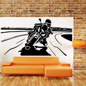 Wall sticker, Wall tattoo, Wall decoration, Wall decal - Motorcycle - Motorcycle 2250