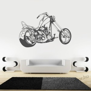 Wall sticker, Wall tattoo, Wall decoration, Wall decal - Motorcycle - Motorcycle 2251