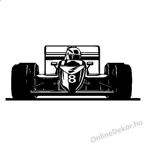 Wall sticker, Wall tattoo, Wall decoration, Wall decal - Vehicle - Formula1 2254