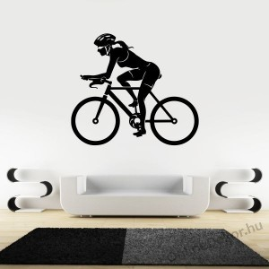 Wall sticker, Wall tattoo, Wall decoration, Wall decal - Kerékpár - Bicycle 2256
