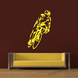 Wall sticker, Wall tattoo, Wall decoration, Wall decal - Kerékpár - Bicycle 2257