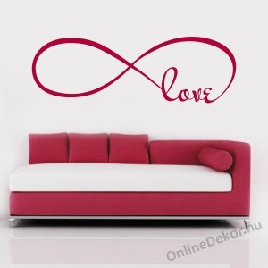 Wall sticker, Wall tattoo, Wall decoration, Wall decal - Name, Texts - Love 2279
