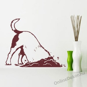Wall sticker, Wall tattoo, Wall decoration, Wall decal - Animal - Dog 2292