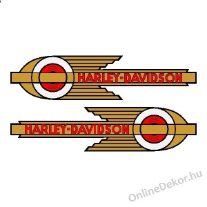 Motor sticker, Motor decal - 01.Motor sticker - Harley Davidson - Harley Davidson 36-39 speedball