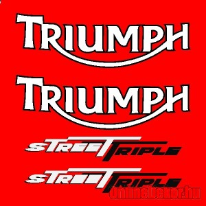 Motor sticker, Motor decal - 01.Motor sticker - Triumph - Street Triple (2008-2011)