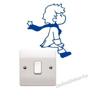 Wall sticker, Wall tattoo, Wall decoration, Wall decal - Light switch - The Little Prince light switch stricker 2315
