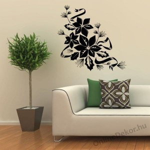 Wall sticker, Wall tattoo, Wall decoration, Wall decal - Flower I. - Flower 2347