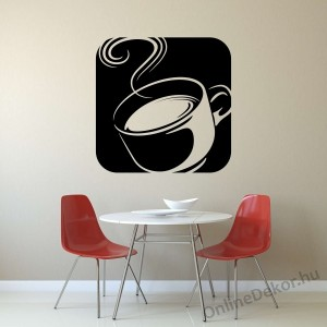 Wall sticker, Wall tattoo, Wall decoration, Wall decal - Kitchen - Coffee (1) 2379