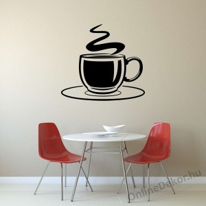 Wall sticker, Wall tattoo, Wall decoration, Wall decal - Kitchen - Coffee (3) 2382