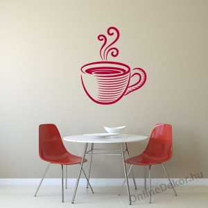 Wall sticker, Wall tattoo, Wall decoration, Wall decal - Kitchen - Coffee (5) 2384