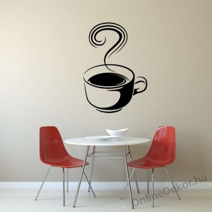 Wall sticker, Wall tattoo, Wall decoration, Wall decal - Kitchen - Coffee (6) 2387