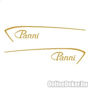 Motor sticker, Motor decal - 02.Scooter sticker - Csepel - PANNI R50