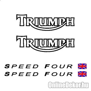 Motor sticker, Motor decal - 01.Motor sticker - Triumph - Speed Four
