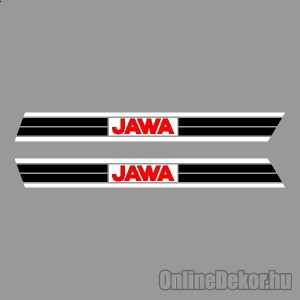 Motor sticker, Motor decal - 01.Motor sticker - Jawa - Mustang 50