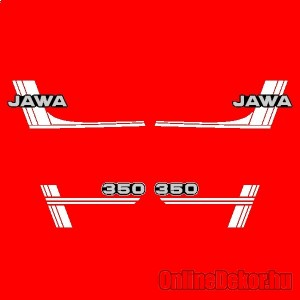 Motor sticker, Motor decal - 01.Motor sticker - Jawa - Jawa 350