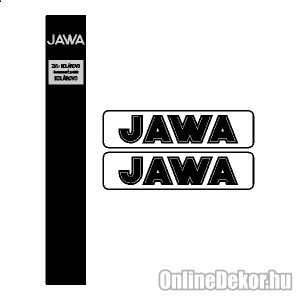 Motor sticker, Motor decal - 01.Motor sticker - Jawa - Jawa