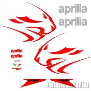 Motor sticker, Motor decal - 01.Motor sticker - Aprilia - RS 50