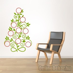 Wall sticker, Wall tattoo, Wall decoration, Wall decal - Family tree, Photo position - Family tree with frame (5) 2420