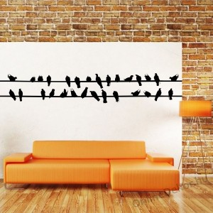 Wall sticker, Wall tattoo, Wall decoration, Wall decal - Animal - Dove 281