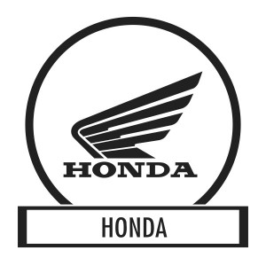 Motor sticker, Motor decal - 02.Scooter sticker - Honda