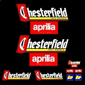Motor sticker, Motor decal - 01.Motor sticker - Aprilia - Chesterfield