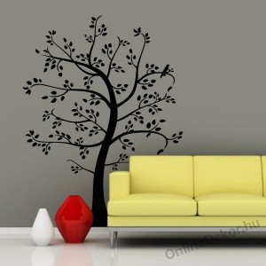 Wall sticker, Wall tattoo, Wall decoration, Wall decal - Tree - Tree 674