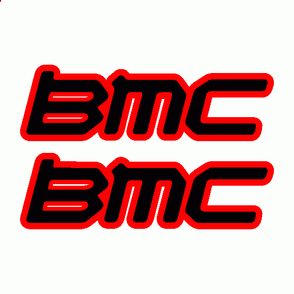 BMC logo and decal
